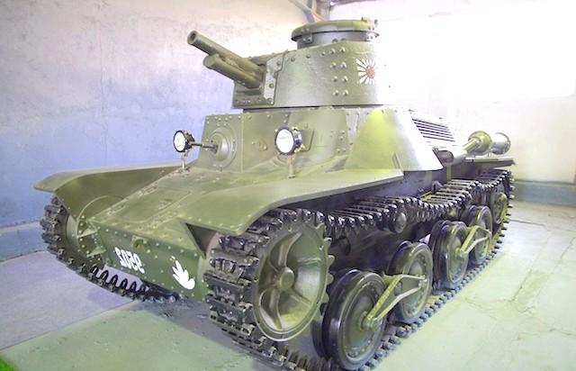 Танковий музей в Кубинці. Їхні .: І трішки самураев.Банзай!