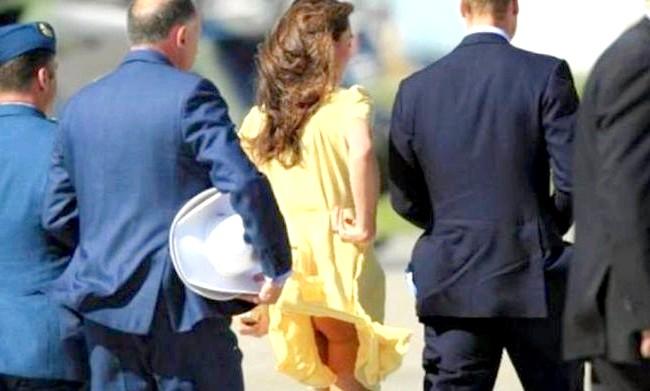 У спідниці герцогині Кетрін з'явився охоронець: