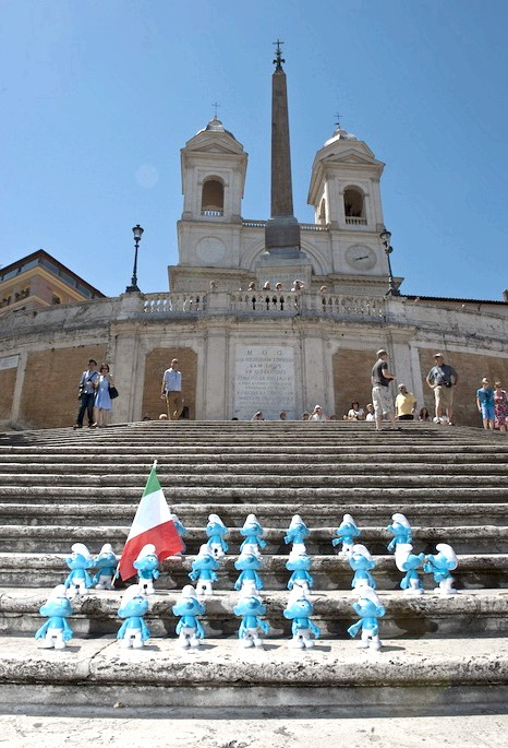 День Смурфіки: блакитні гноми на вулицях Риму: Сімейний комедійний фільм «Смурфіки» з'явився на наших екранах пару років тому, і завоював любов як дітей, так і дорослих. Пригоди