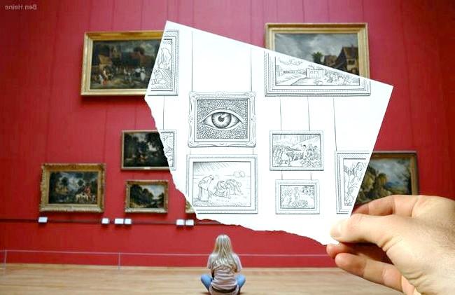 Фотографія проти олівцеві нариси