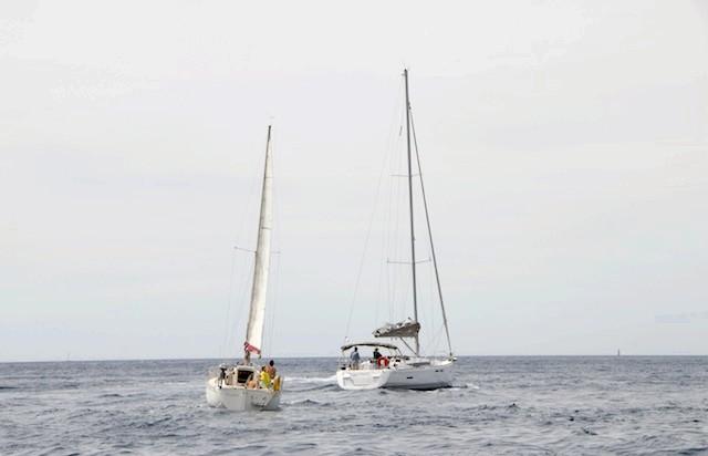 Французи на воді. Кассис .: Яхтинг.