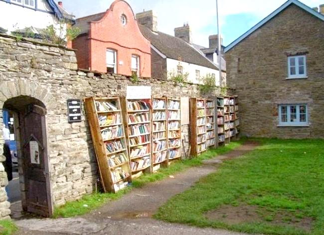 Хей-он-Уай: самий книжковий місто: Серед численних книжкових магазинів в Хейе самими незвичайними і чудовими є