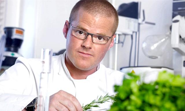 Хестон Блюменталь - кращий шеф-кухар десятиліття