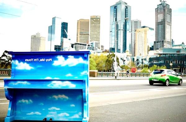 Яскраві піаніно на вулицях міст: Мельбурн, Австралія, 2014