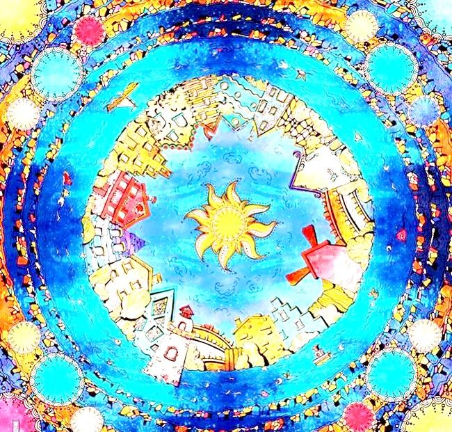 Яскравий шовк: розписані вручну шовкову хустку. [url=http://klevosti.ru/dekabrskiy-shelk/?utm_source=eva&utm_medium=article&utm_campaign=art_link]Взято звідси [/ url]