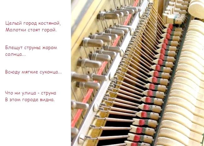 Яке пристрій піаніно?