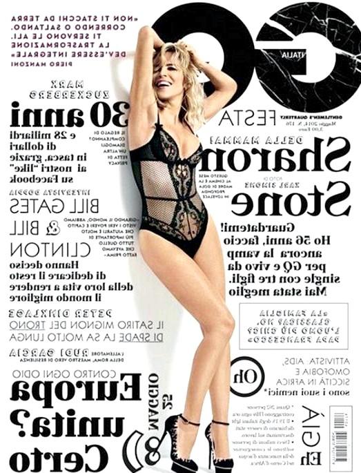 Шерон Стоун знялася в нижній білизні для обкладинки глянцю: Для чоловічого журналу GQ актриса знімається не перший раз. Вона прикрашала собою обкладинку листопадового номера 1995 року, а через рік