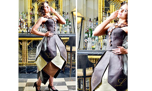 Шоколадне плаття в стилі «Абатство Даунтон»