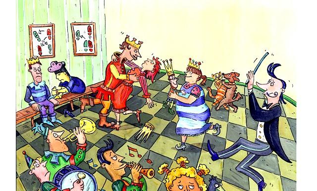 Казка про царя Козьму да бабське царство