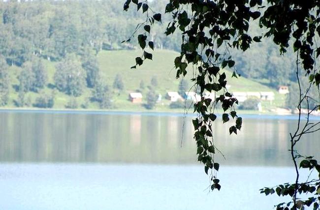 Вихідні на озері Інголь: Ну, і, звичайно, милувалися самим озером!