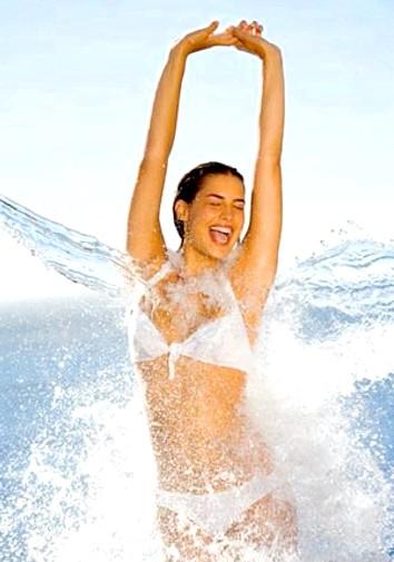 Загартовування організму навесні: Орієнтовна схема душа: теплий - щоб звикло тіло;